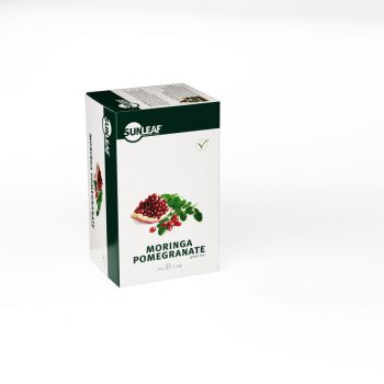 Sunleaf Moringa Pomegranate Tea 20 stuks