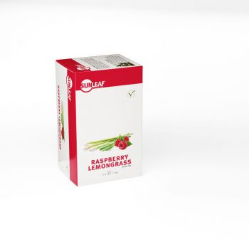Sunleaf Raspberry Lemongrass Tea 20 stuks