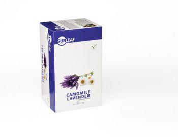 Sunleaf Camomile Lavender Tea 20 stuks