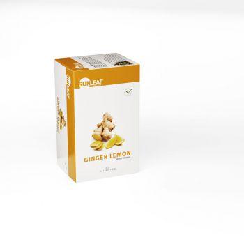 Sunleaf Ginger Lemon Tea 20 stuks