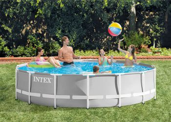 intex zwembad rond 427 x 107 cm