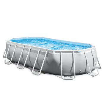Intex Prism Oval Frame zwembad 503 x 274 x 122 cm