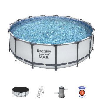 bestway zwembad rond 457x122