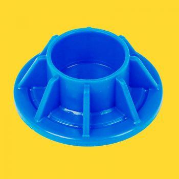 Reserve onderdelen voetje blauw 32 mm Sirocco 450 en 540