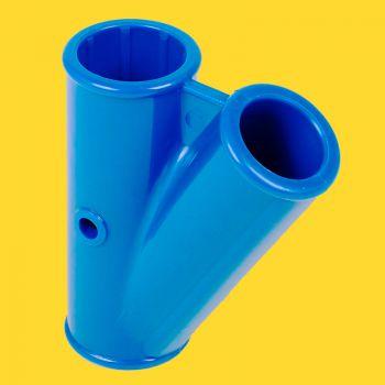 Y stuk Passaat blauw 300 en 400