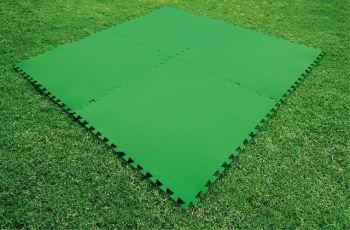 zwembad ondertegels groen