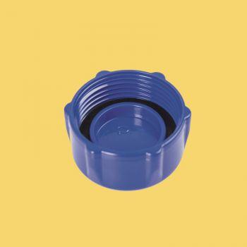 Bestway aftapplug blauw