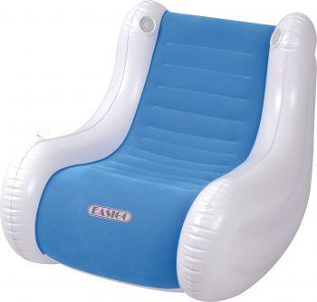 Lounge stoel Easigo met speaker blauw