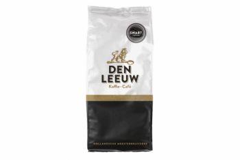 den leeuw koffiebonen swart