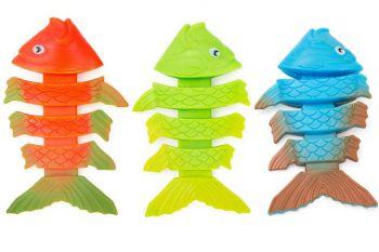 zwembad duik visjes