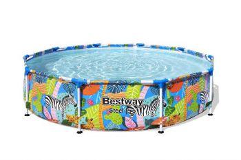 kinder opzetzwembad jungle