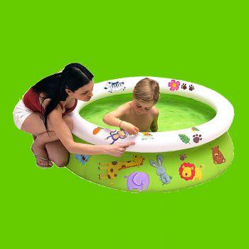Kinderzwembad met stickers