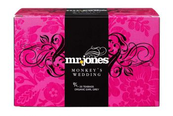 Mr Jones Monkey`s Wedding Earl Grey Thee Bio
