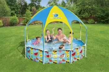 kinderzwembad 244 met zon bescherming