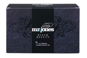 Mr Jones Black Beauty Zwarte Thee Bio